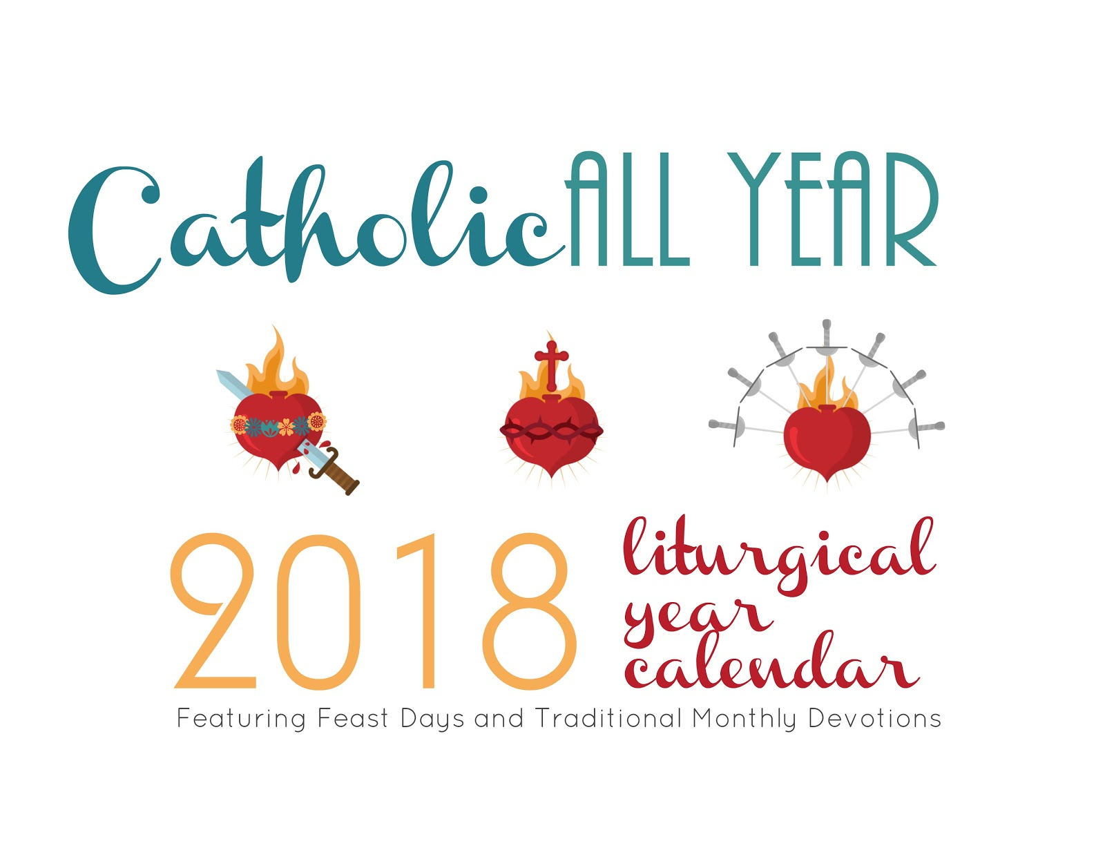Catholic all year baby steps to living the liturgical year as a it features the all the feasts and fasts of the universal calendar and then some illustrated with images featuring the traditional catholic monthly buycottarizona