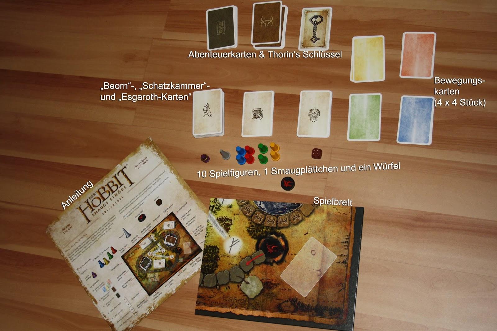 Spielreview] Der Hobbit. Smaugs Einöde (Kosmos Verlag) - Book Walk