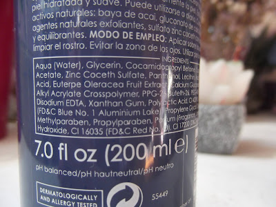 Micelárny čistiaci peelingový gél od Ziaja ingredients