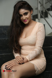 Telugu Actress Model Sony Charishta Stills in Short Dress at Rapture 2017 Grand Logo Launch  0152.JPG