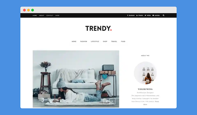 400+ Free SEO Friendly Responsive Blogger Templates 2019!