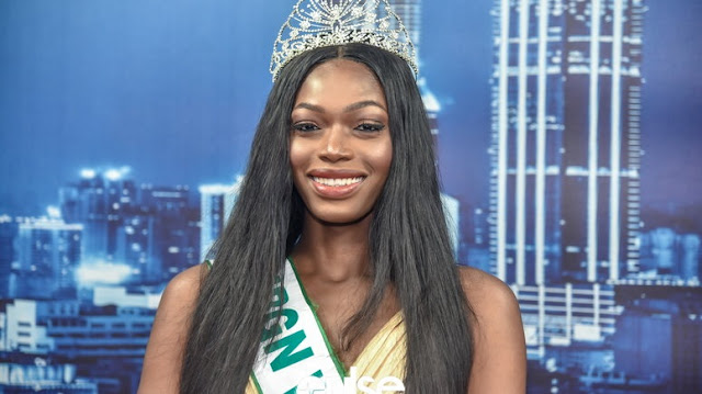 Miss Nigeria Wins Heart Of Many With Her Display Of Affection As Miss Jamaica Wins