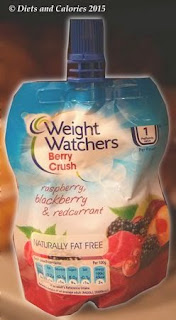 Weight Watchers Berry Crush Fruit Puree