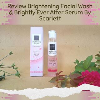 facial wash scarlett