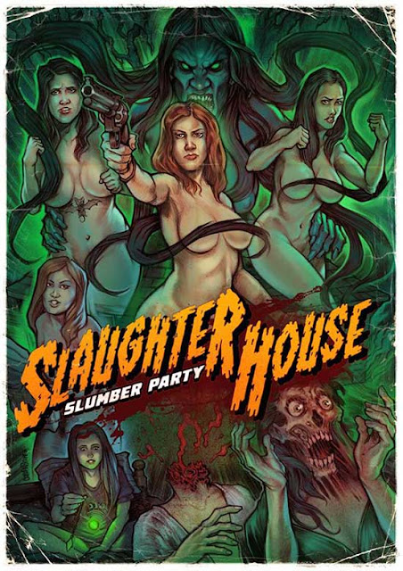 Slaughter House Slumber Party Poster