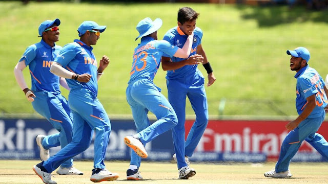 Indian under 19 into Semi finals