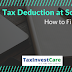 13 Simple Steps to Fill TDS Online-Tax Deduction at Source