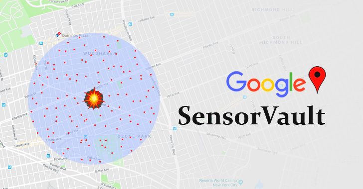google sensorvault location tracking history
