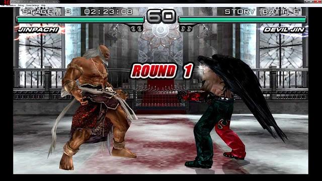تحميل لعبة تيكن Tekken 5 Dark Resurrection