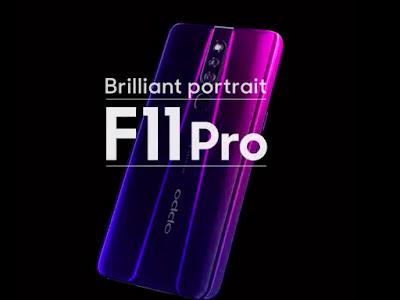 Harga dan Spesifikasi Oppo F11 Pro Terbaru