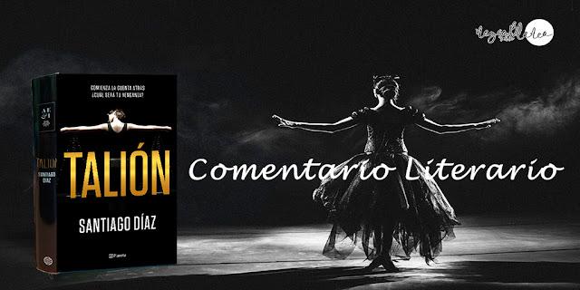 Blog: Negro sobre Blanco. Reseña Talión. María Loreto Navarro Pacheco