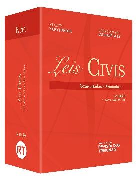 Livro: Leis civis comentadas e anotadas / Autores: Rosa Maria De Andrade Nery e Nelson Nery Junior