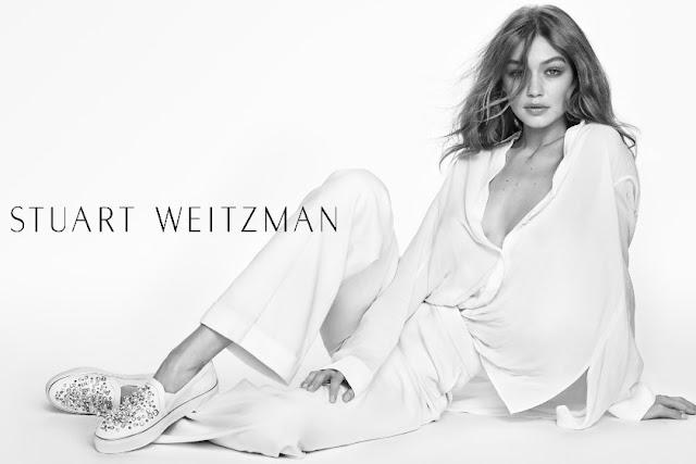 Gigi Hadid – Stuart Weitzman Spring 2017 Campaign