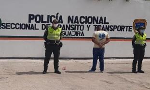 https://www.notasrosas.com/ Seccional de Tránsito y Transporte de la Policía Nacional, realiza operativos en vías guajiras