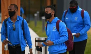 West Indies became the first international sports team to arrive in the United Kingdom since the coronavirus lockdown started in March 2020 to begin their historic Test tour of England. The three-Test series, originally due to begin on 4 June, starts on 8 July at bio-secure venues without spectators.