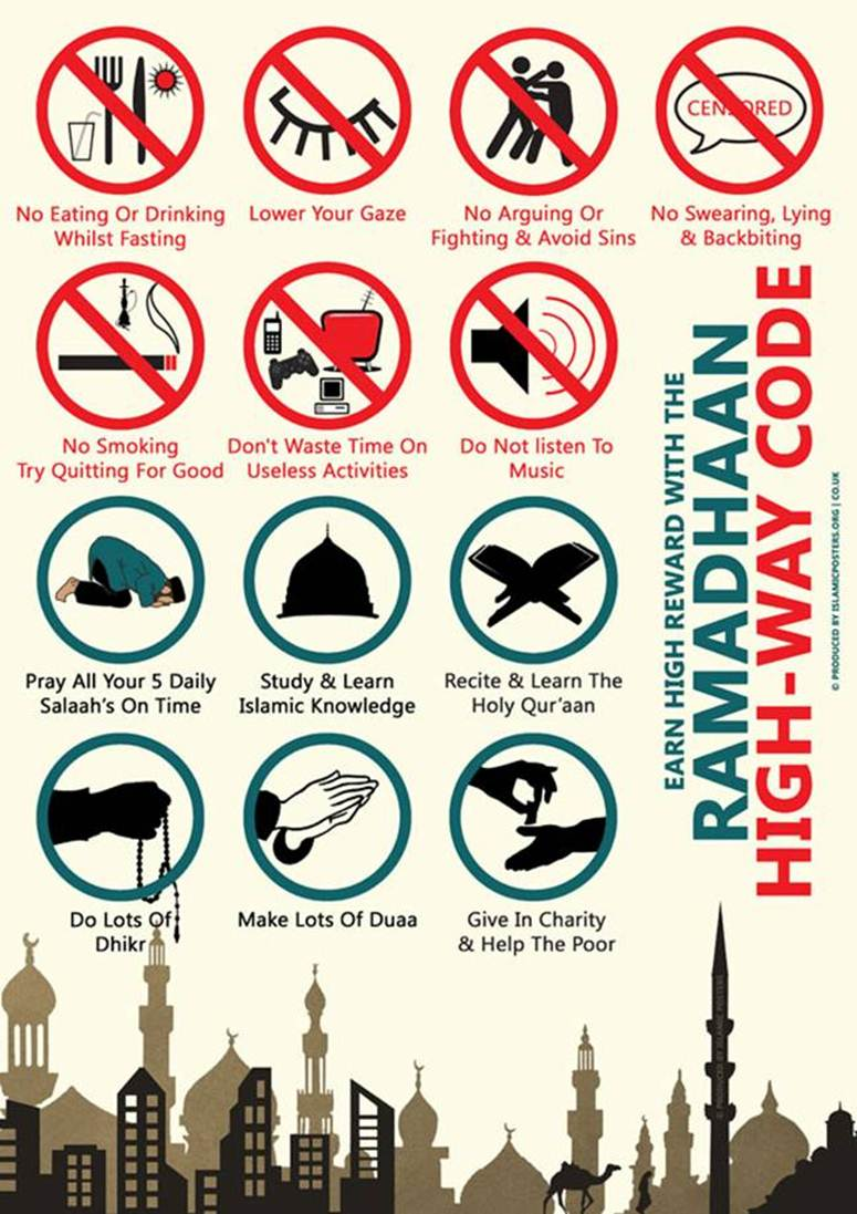 rules of ramadan