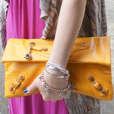 Balenciaga envelope clutch in 2012 mangue with g12 RGGH | Away From Blue