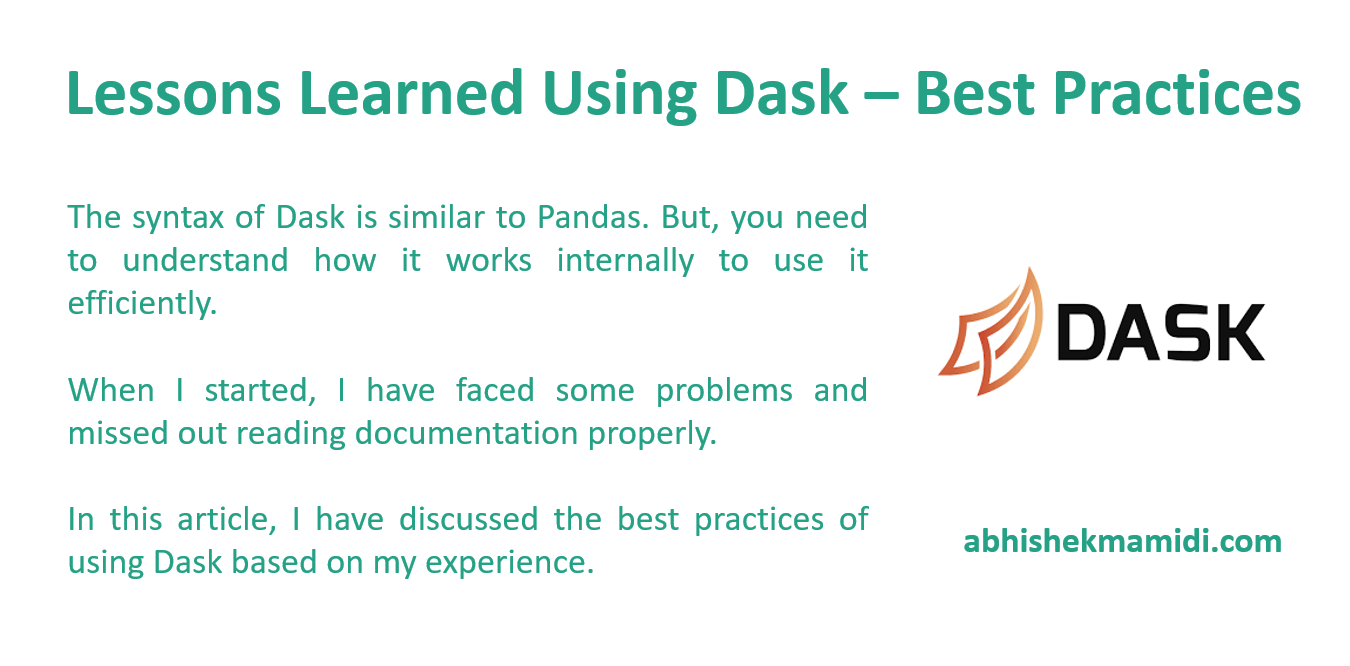 Dask - Introduction