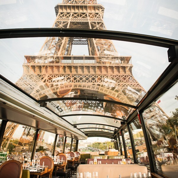 French Gourmet Lunch or Dinner by Bustronome Luxury Bus