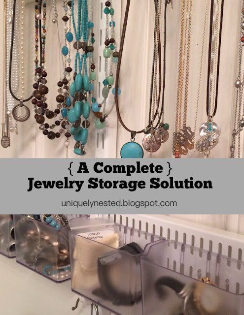 A Complete Jewelry Storage Solution - Finally!