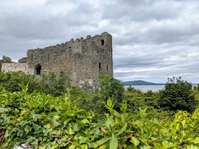King John's Castle on Carlingford Lough in Ireland