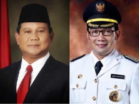 Prabowo Dan Ridwan Kamil Maju Sebagai Pilpres   Bagai Mana Menurut Anda Yang Setuju Silahkan Share
