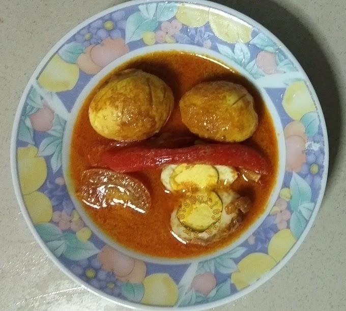 Resepi Gulai Telur Mudah Dan Special Resepi Bonda