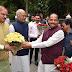 राजग के राष्ट्रपति पद के उम्मीदवार रामनाथ कोविंद रांची पहुंचे