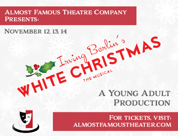 THIS MONTH'S SITE SPONSOR: Almost Famous Theatre Company presents