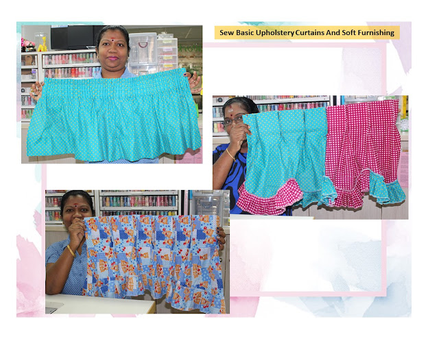 Sew Basic Upholstery Curtains And Soft Furnishing Astitchworks
