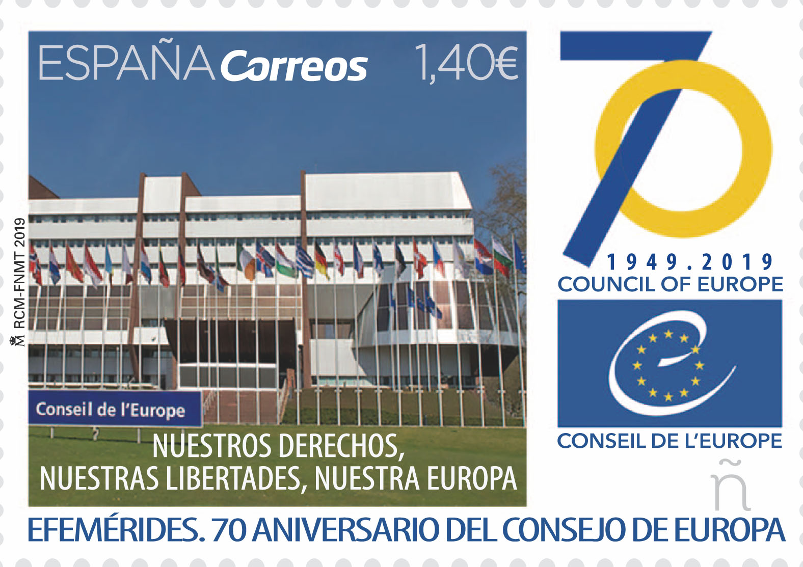 70 aniversario Consejo de Europa