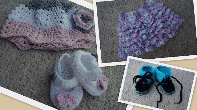 szydełkowe ubranka niemowlęce