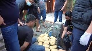 Dua Kurir Sabu di Kawasan Bintaro di Ringkus SatRes Narkoba Polres Metro Jakarta Barat