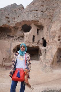 Travelog Turkey Green Tour in Cappadocia, Turki Selime Monastery