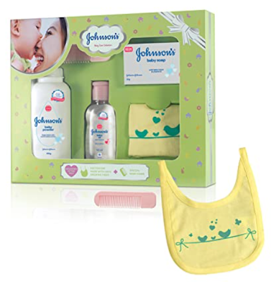 Johnson's Baby Care Collection Baby Gift Set - An Exclusive Baby Care Collection