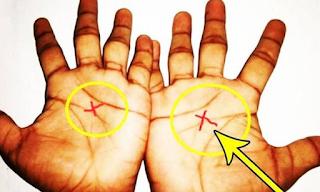 Κοιτάξτε τις παλάμες σας! Τι σημαίνει αν έχετε το Χ και στις δύο παλάμες; ΒΙΝΤΕΟ