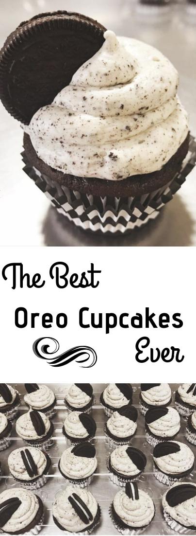 Oreo Cupcake Recipe #dessert #oreocake