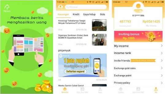 Tips & Trik Cepat Mendapatkan 1 Juta dari Aplikasi Newscat!