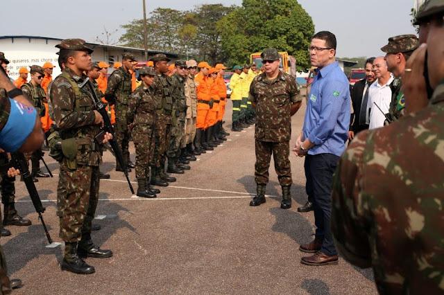 Homenagem do Secretário Regional Coronel Flávio Derzete da Mota ao Dia do Soldado