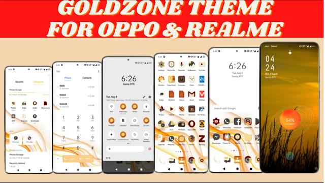 Chủ đề GoldZone cho oppo & realme || Chủ đề Realme || Chủ đề OPPO ||