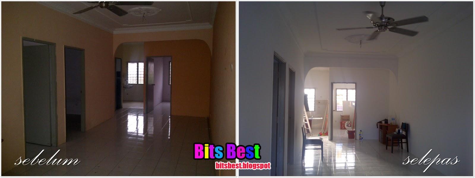 Bits Best: Proses Mengecat Rumah BB ~ UnderCoat