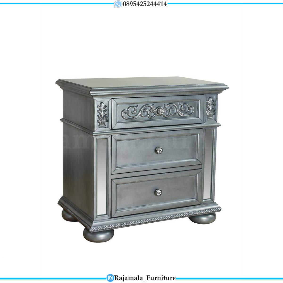 Set Tempat Tidur Minimalis Modern Luxury Furniture Jepara RM-0690