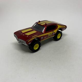 HOTWHEELS  CAR  CULTURE 1970 OLDSMOBILE 442 LOT OF 4