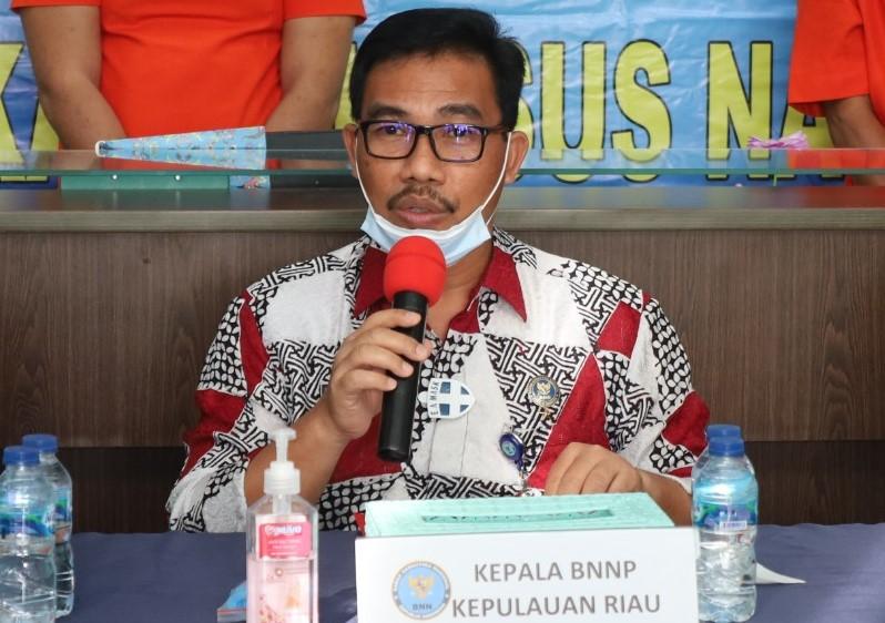Kepala BNNP Kepri: Pelaku Diupah Rp 30 Juta Perkilo, Bawa 33 Kg Sabu dari Malaysia Tujuan Tembilahan