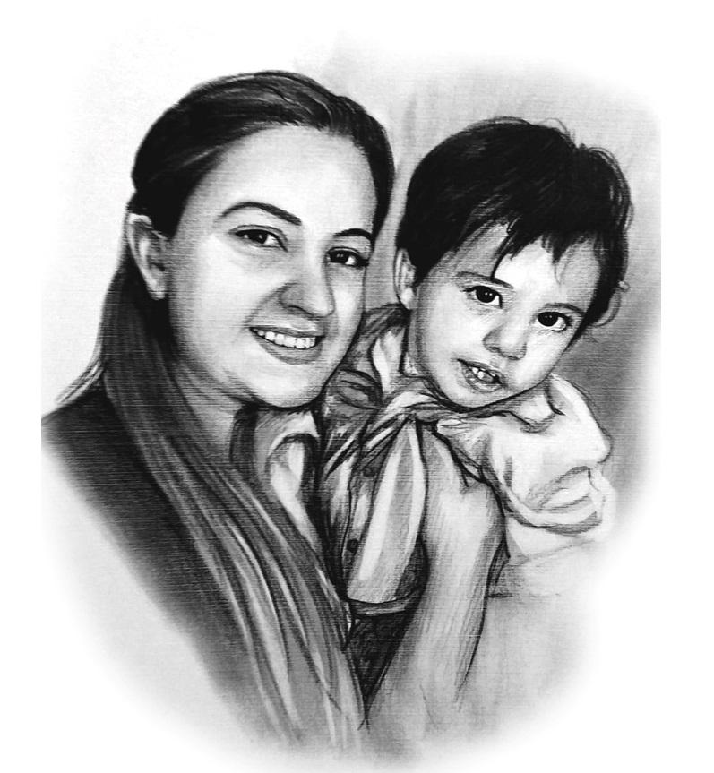 Karakalem Portre Resim