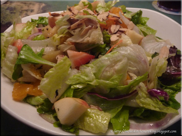 Mom's Cafe Home Cooking: Calypso Salad at Cheeseburger in