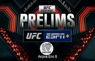 UFC Fight Night Prelims Biss Key AsiaSat 5 24 February 2019