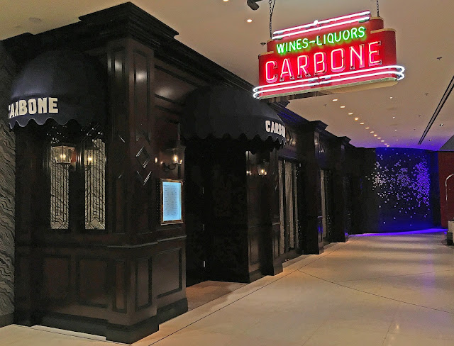Carbone Las Vegas - one of the best places we ever eaten at in Las Vegas. Italian food at its finest. Old school atmosphere. The food and service was second to none. We already have a reservation for our next trip! SOOO good!