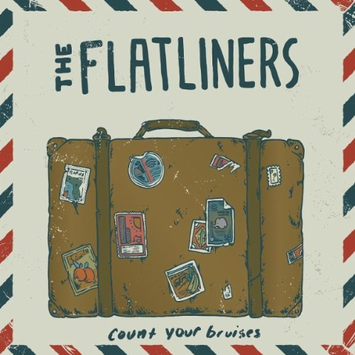"<center>The Flatliners - Count Your Bruises 7"" (2011)</center>"