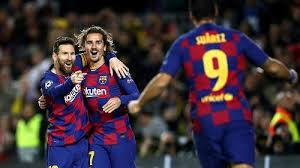 واصل برشلونة مسيرته في الوصول إلى ربع نهائي دوري أبطال أوروبا